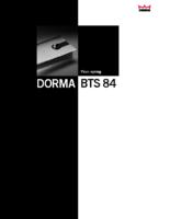 BTS84 Floor Spring