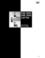 PHA2221 Panic Latch