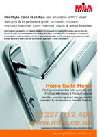 Prostyle door handle