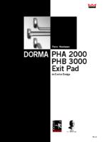 PHA2000 Modular Push Bars