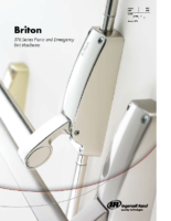 Briton 1438 Push Pad Panic Latch